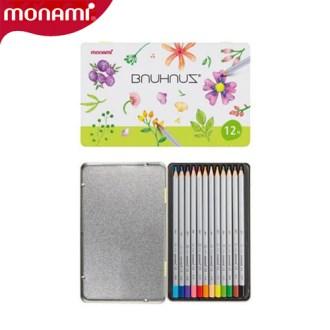 모나미-바우하우스색연필12색세트